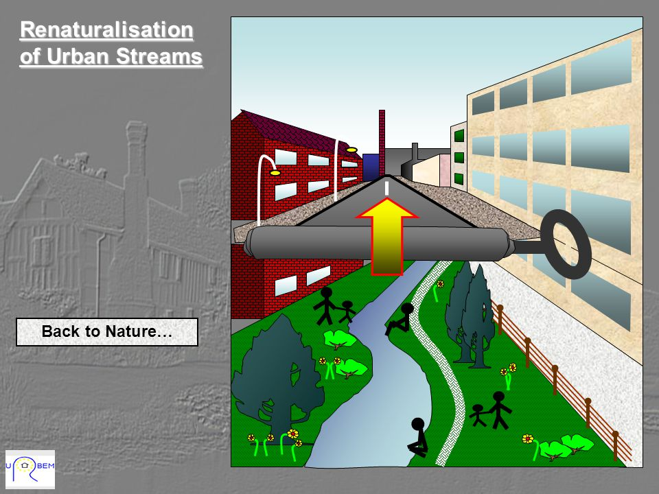 Renaturalisation of Urban Streams