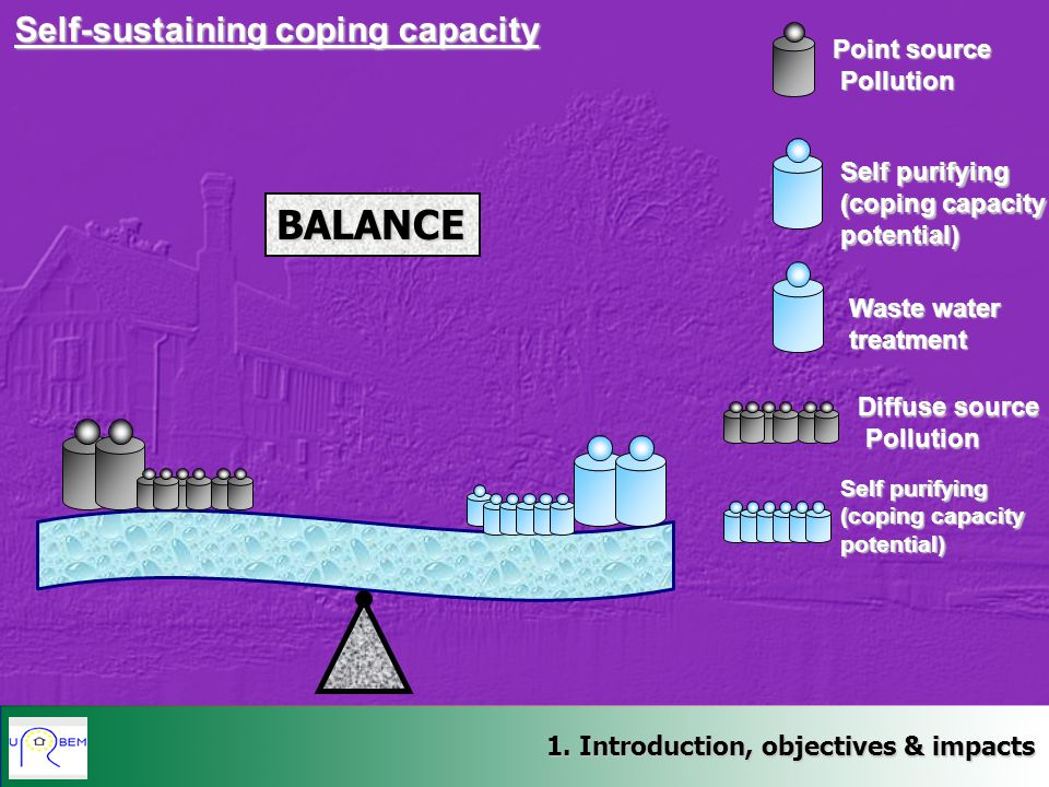 BALANCE Self-sustaining coping capacity Point source Pollution