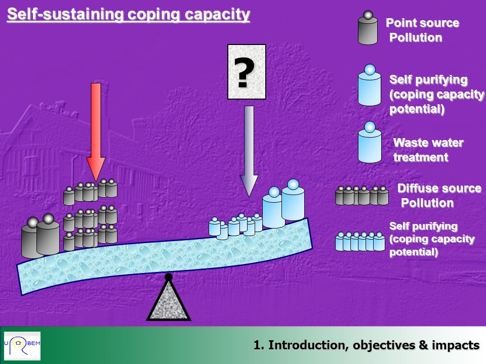 Self-sustaining coping capacity Point source Pollution