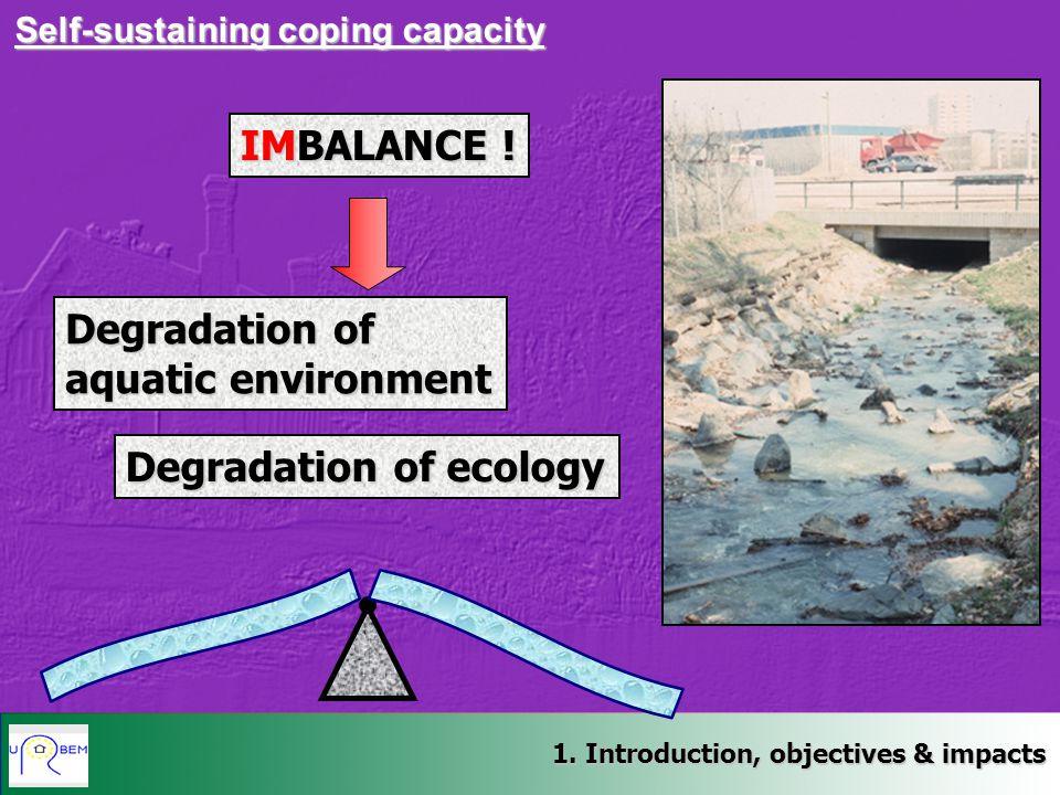 Degradation of ecology