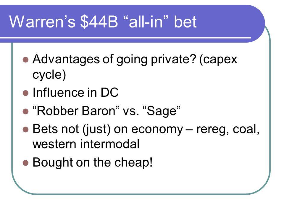 Warren's $44B all-in bet