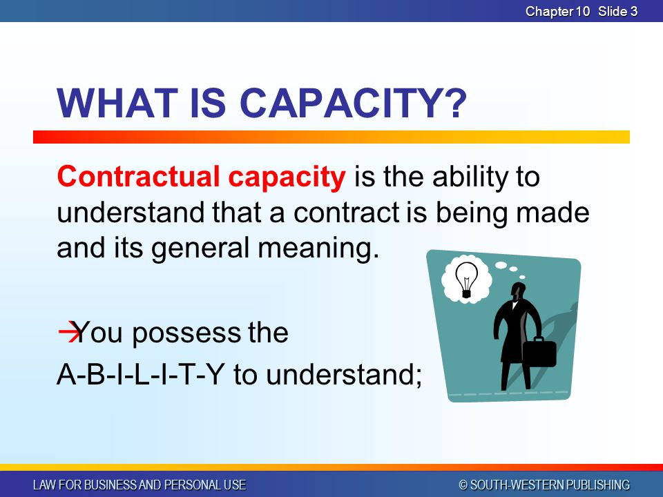 CHAPTER 10 4/1/2017. Chapter 10. WHAT IS CAPACITY