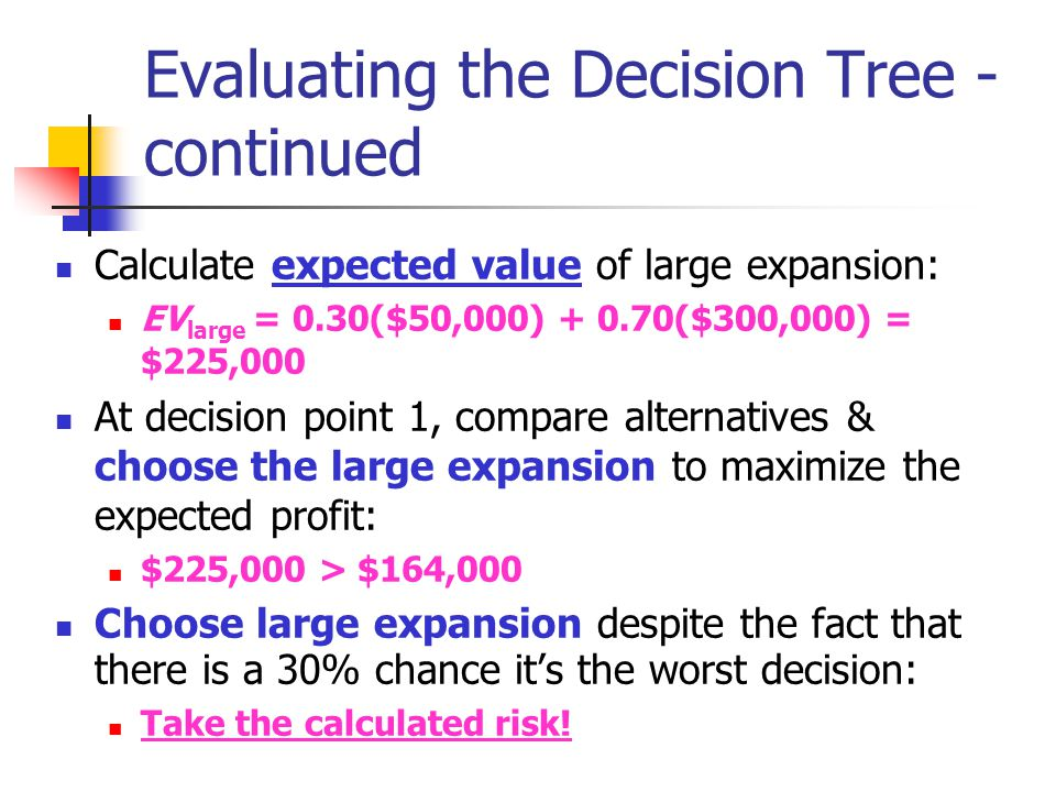 Evaluating the Decision Tree - continued