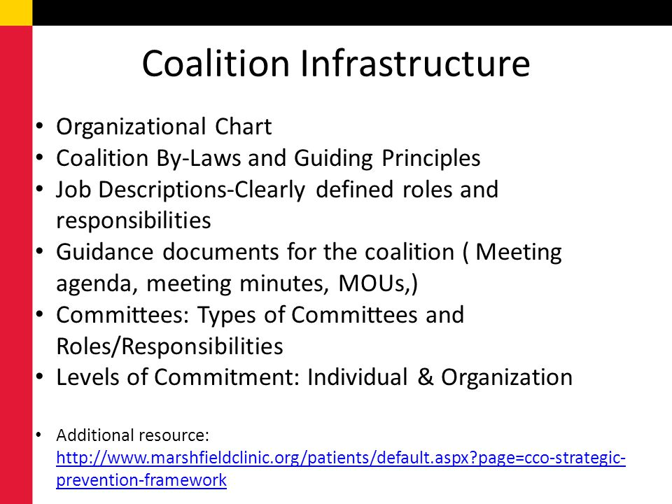 Coalition Infrastructure