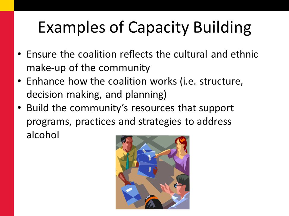 Examples of Capacity Building