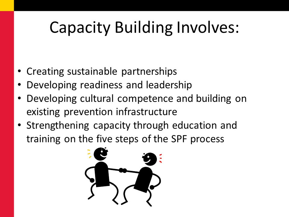 Capacity Building Involves: