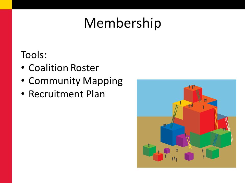 Membership Tools: Coalition Roster Community Mapping Recruitment Plan