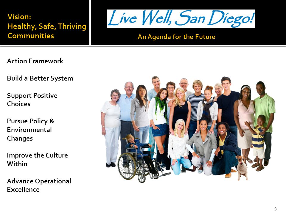 Vision: Healthy, Safe, Thriving Communities