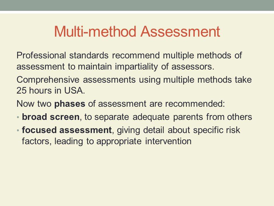 Multi-method Assessment