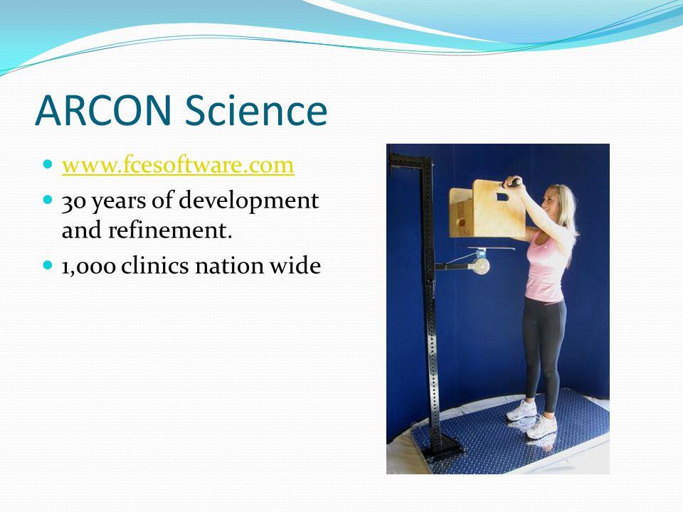 ARCON Science www.fcesoftware.com