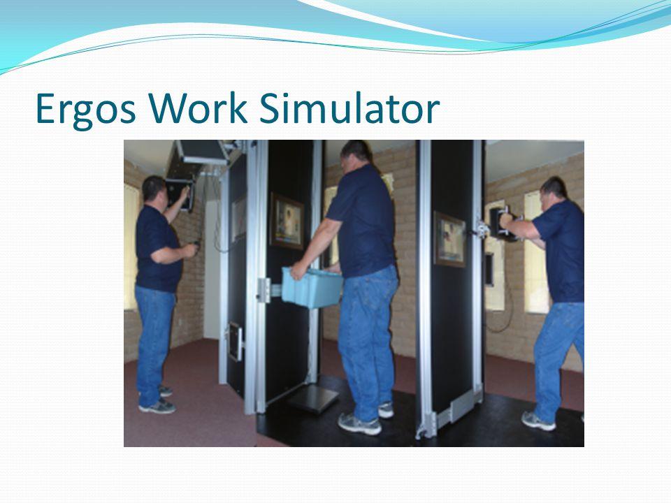 Ergos Work Simulator Summary Complete systems cover: