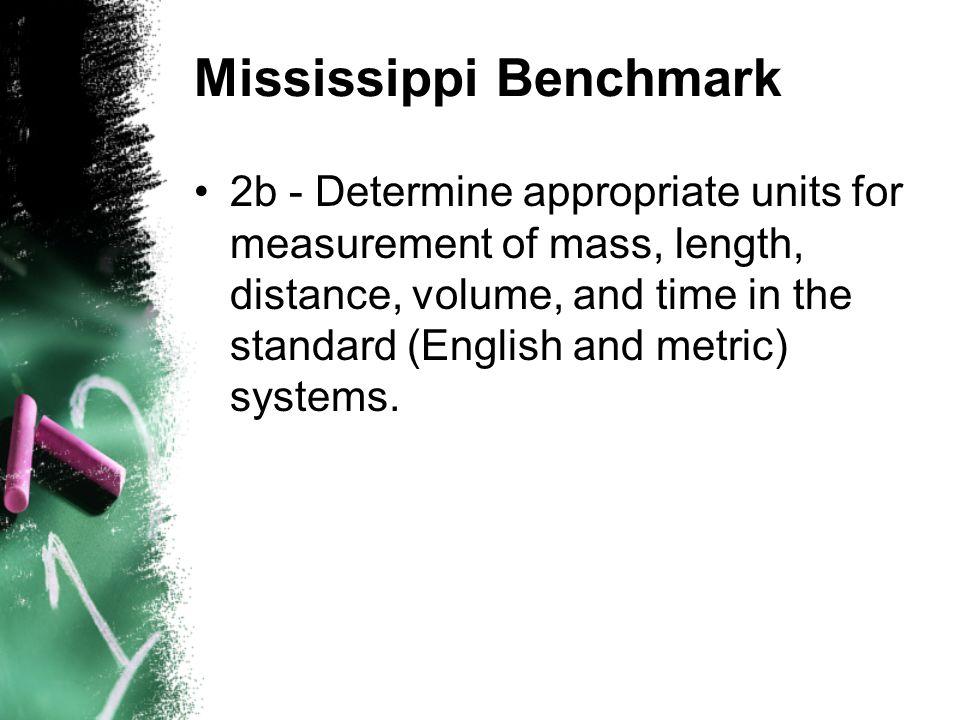 Mississippi Benchmark