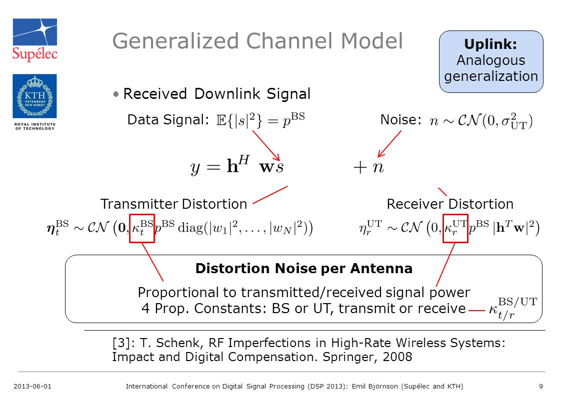 Generalized Channel Model