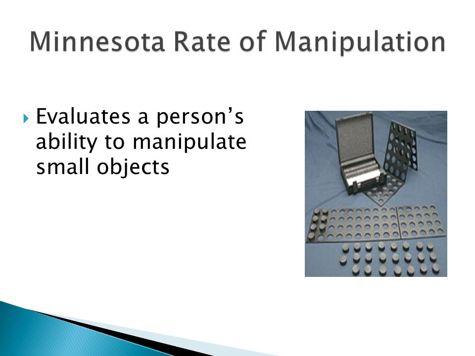 Minnesota Rate of Manipulation