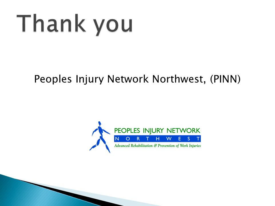 Peoples Injury Network Northwest, (PINN)