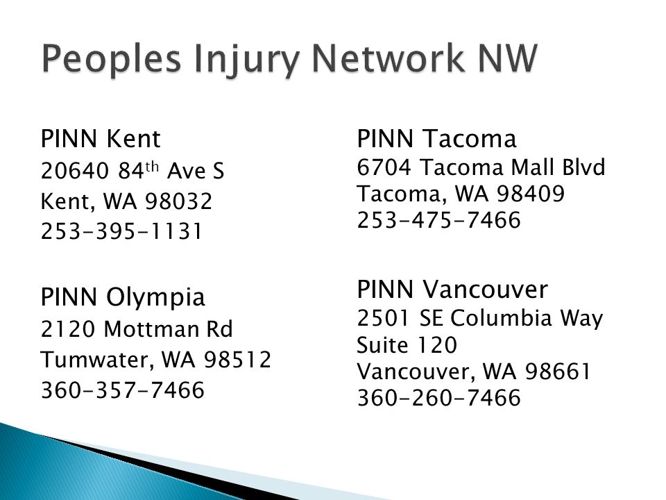 Peoples Injury Network NW