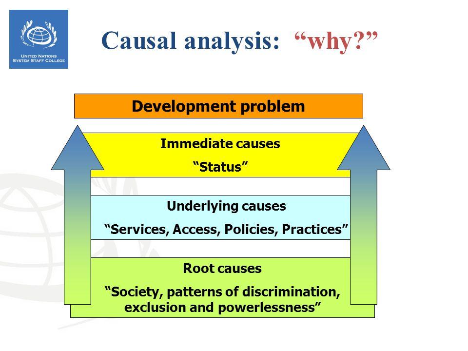 Causal analysis: why