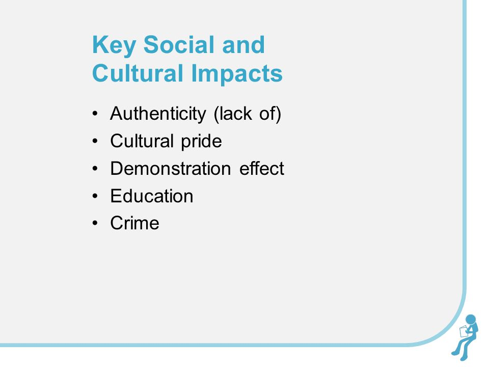 Key Social and Cultural Impacts