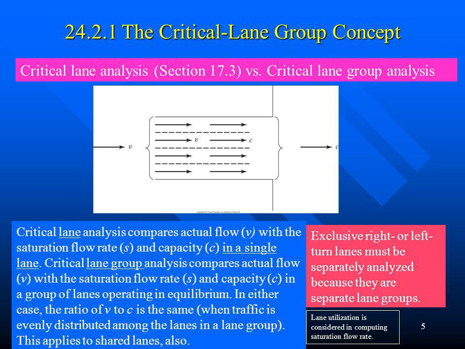 24.2.1 The Critical-Lane Group Concept