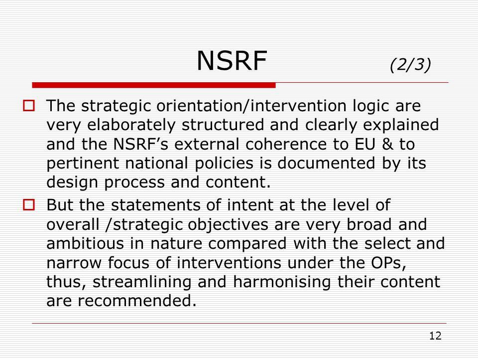 NSRF (2/3)
