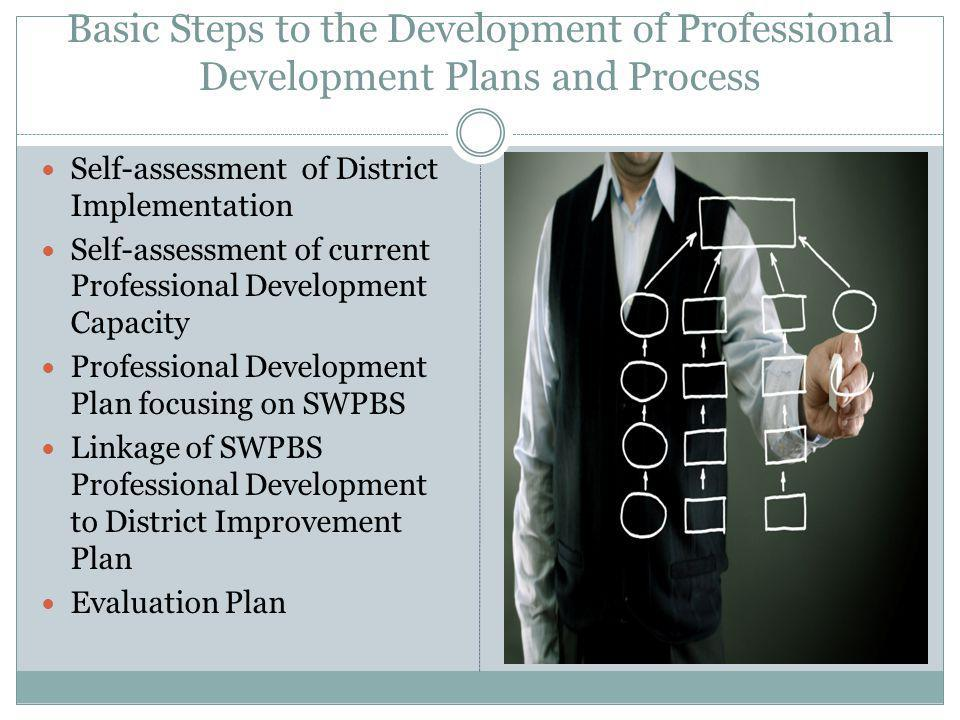 Basic Steps to the Development of Professional Development Plans and Process