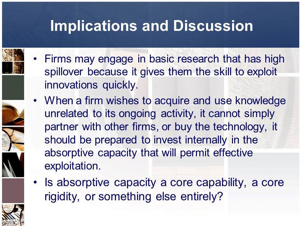 Implications and Discussion