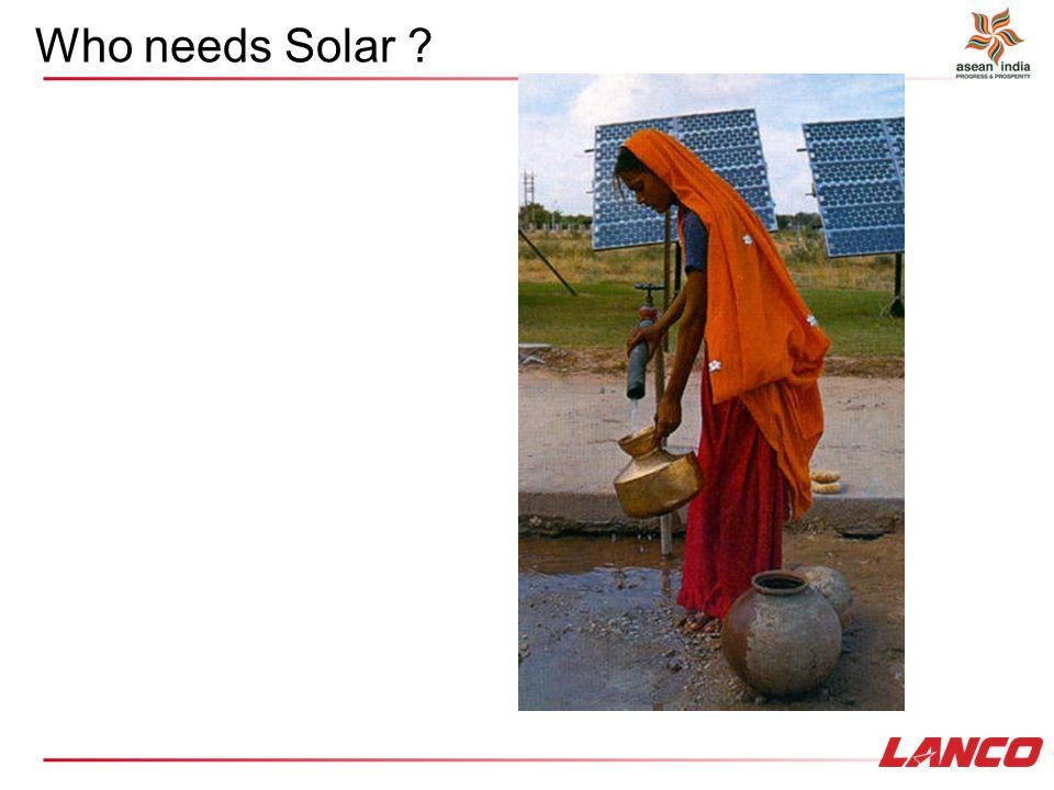 Who needs Solar