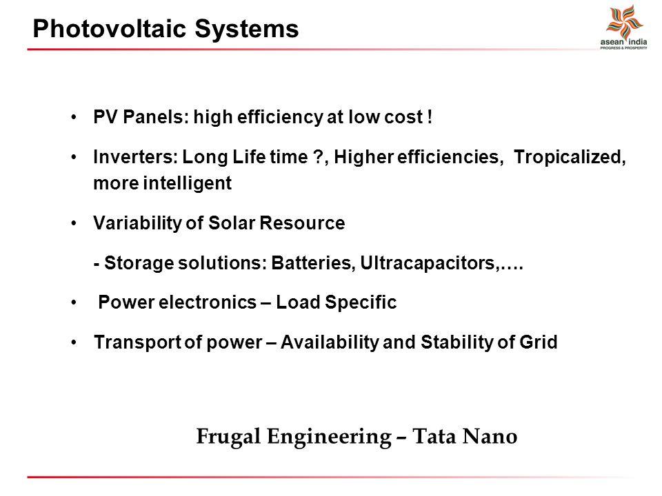 Frugal Engineering – Tata Nano