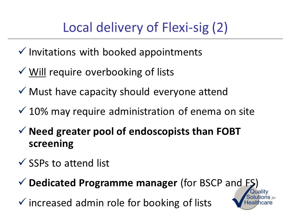 Local delivery of Flexi-sig (2)