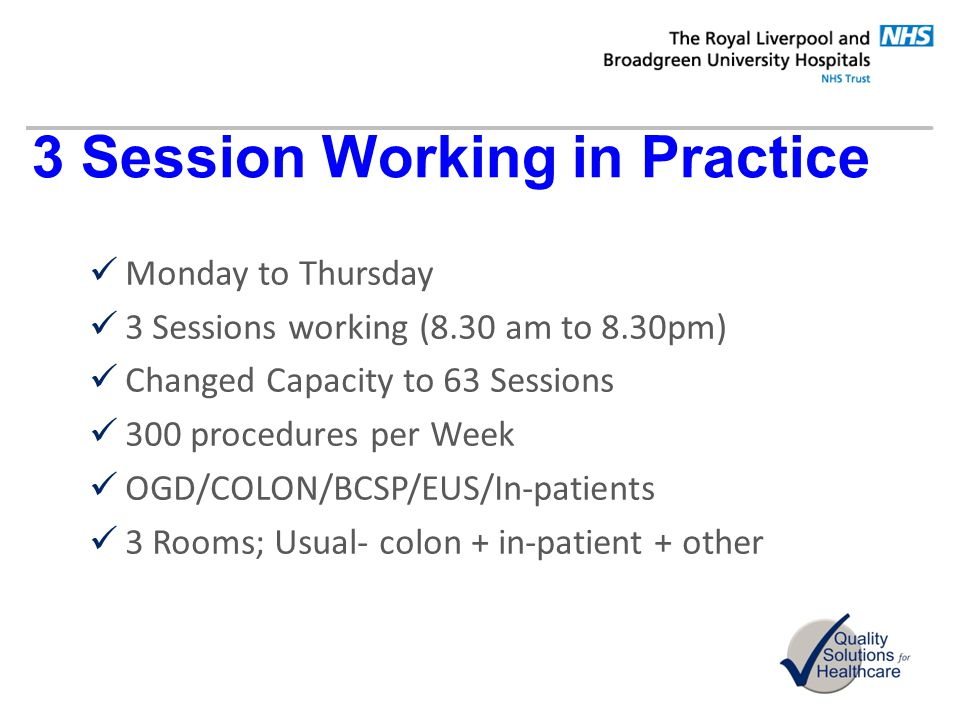 3 Session Working in Practice