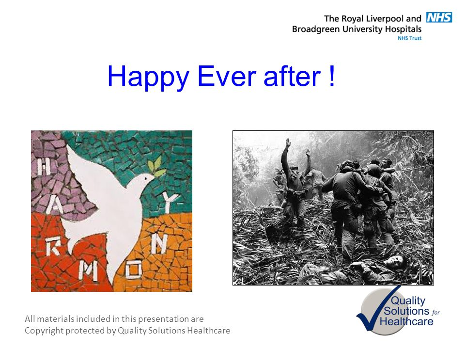 Happy Ever after !