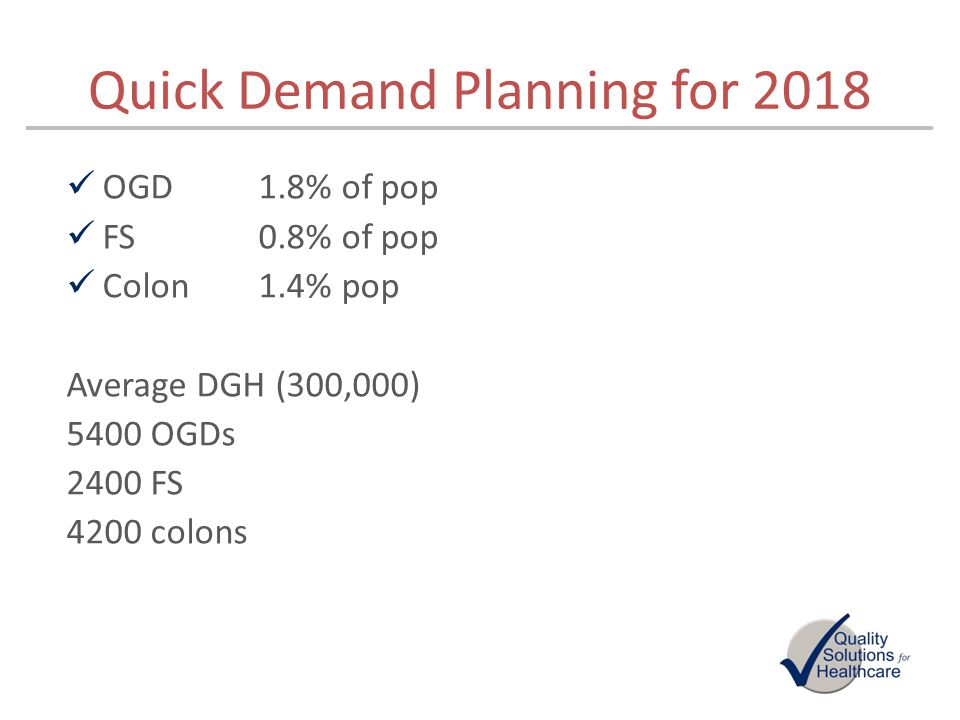 Quick Demand Planning for 2018