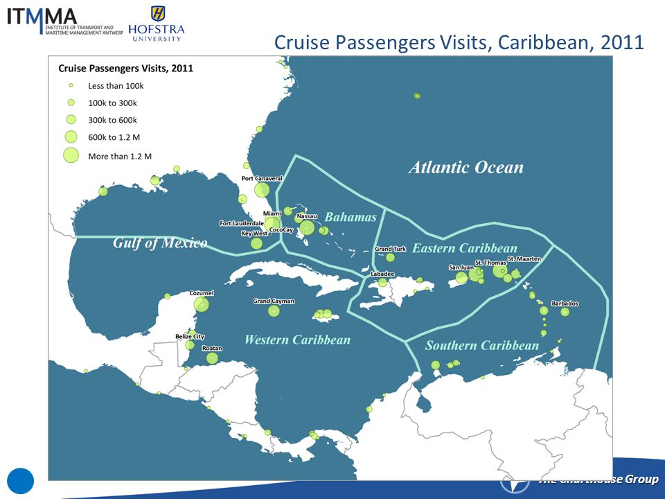 Selected Cruise Itineraries, Caribbean