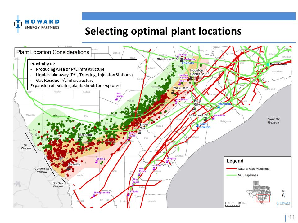 Selecting optimal plant locations