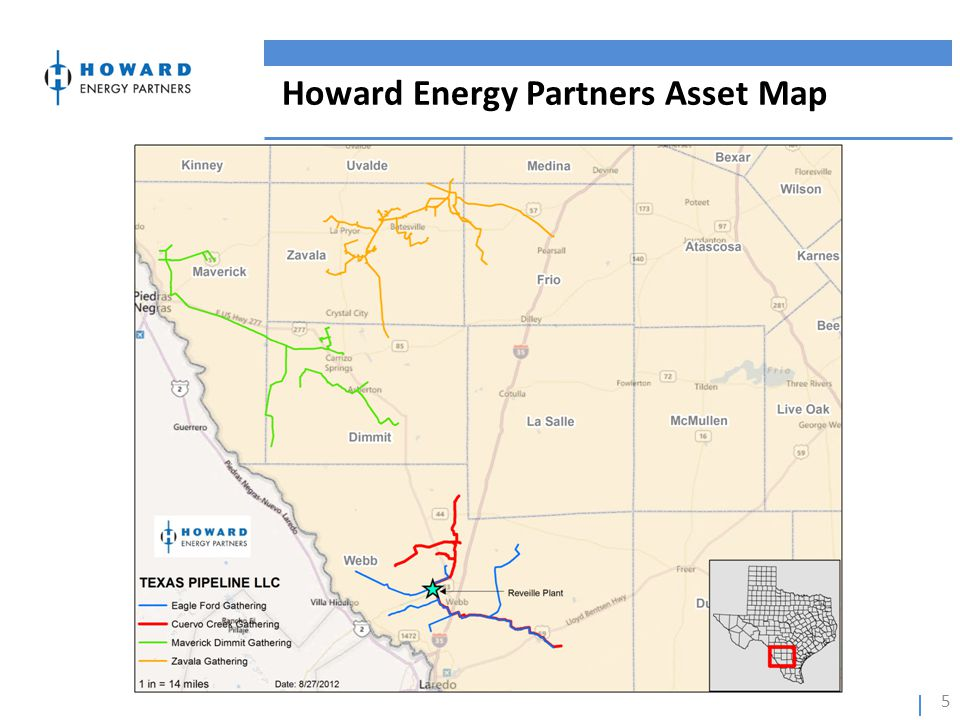 Howard Energy Partners Asset Map