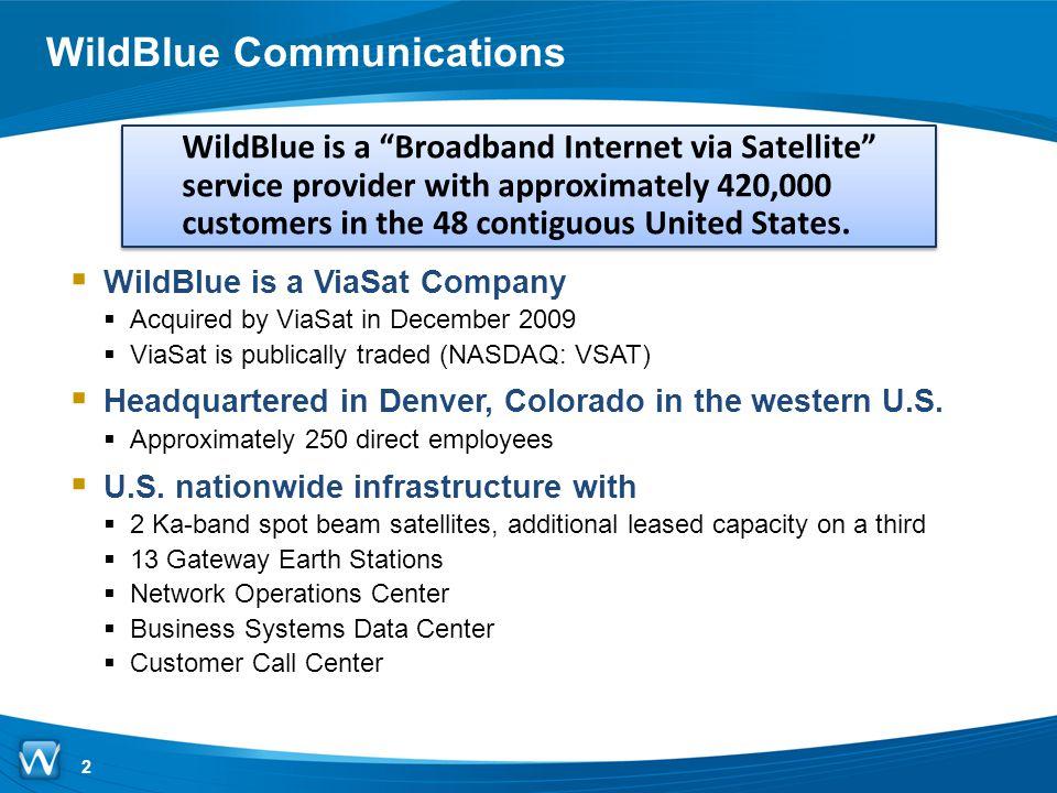 WildBlue Communications