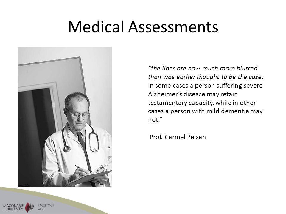 Medical Assessments