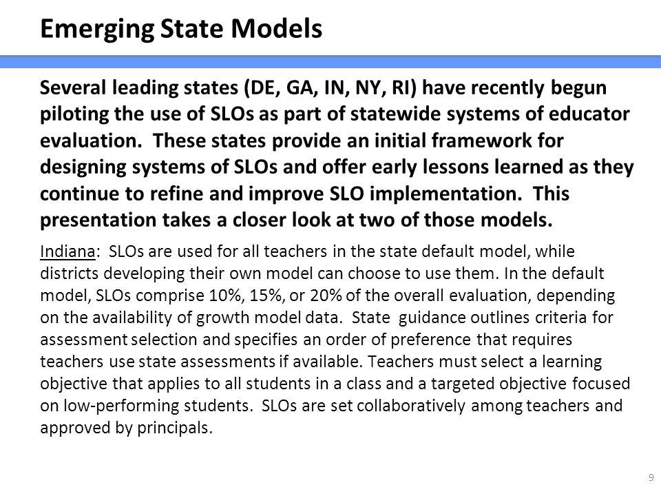 Emerging State Models