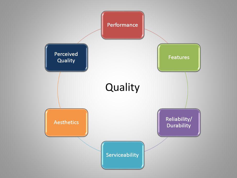 Reliability/ Durability