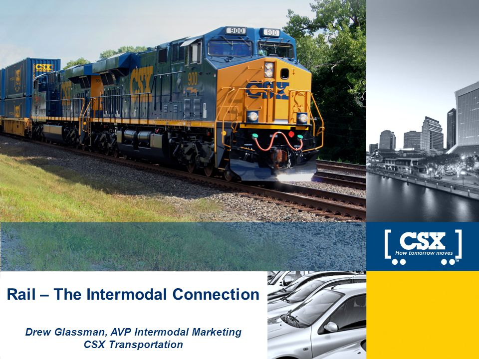 Rail – The Intermodal Connection