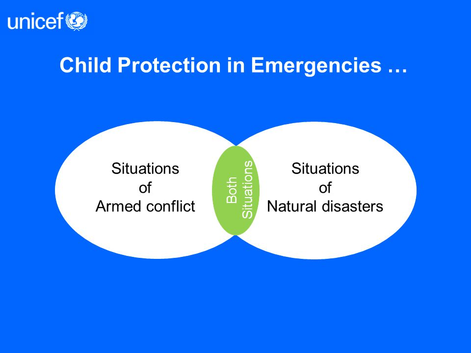 Child Protection in Emergencies …