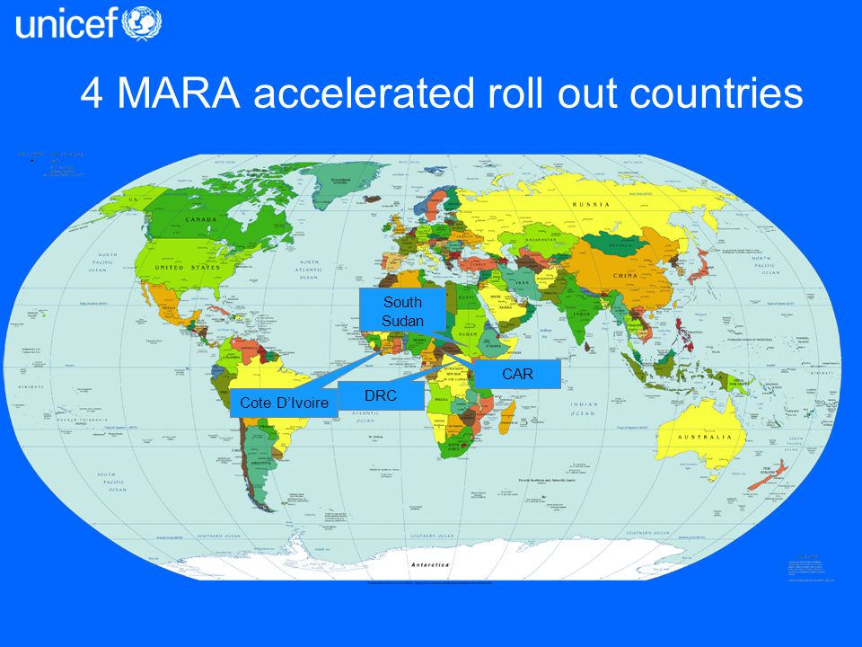 4 MARA accelerated roll out countries