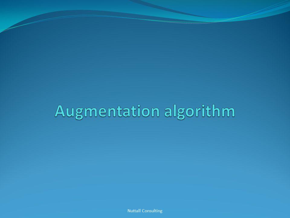 Augmentation algorithm