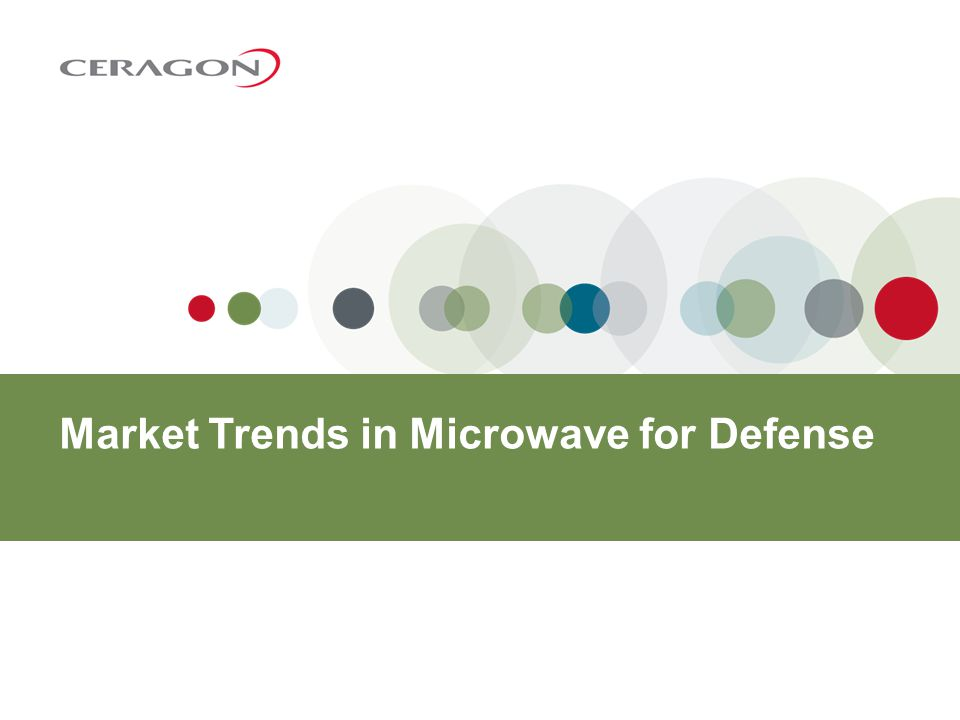 Market Trends in Microwave for Defense