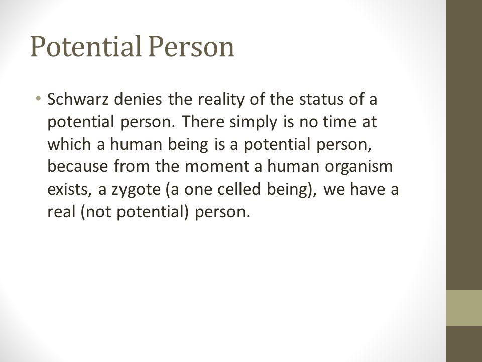 Potential Person