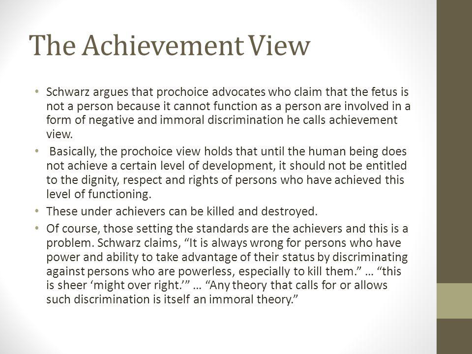 The Achievement View