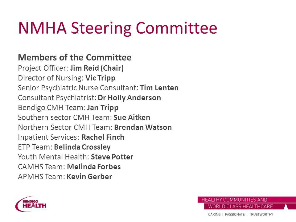 NMHA Steering Committee