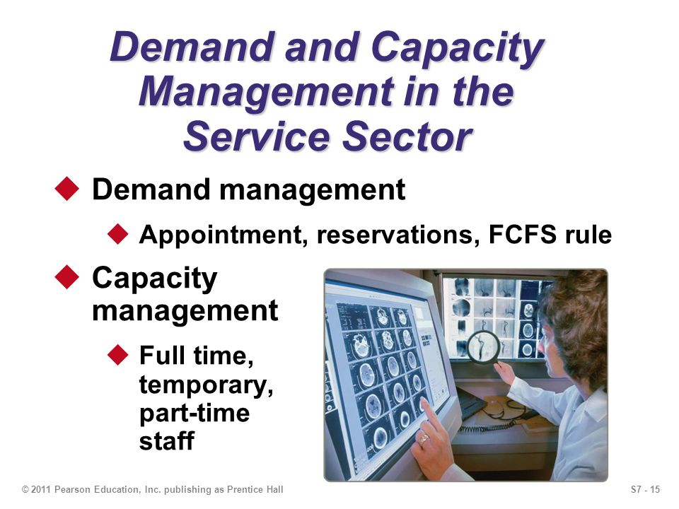 Demand and Capacity Management in the Service Sector