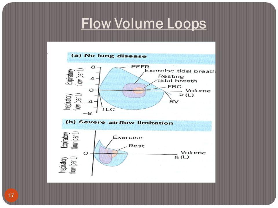Flow Volume Loops