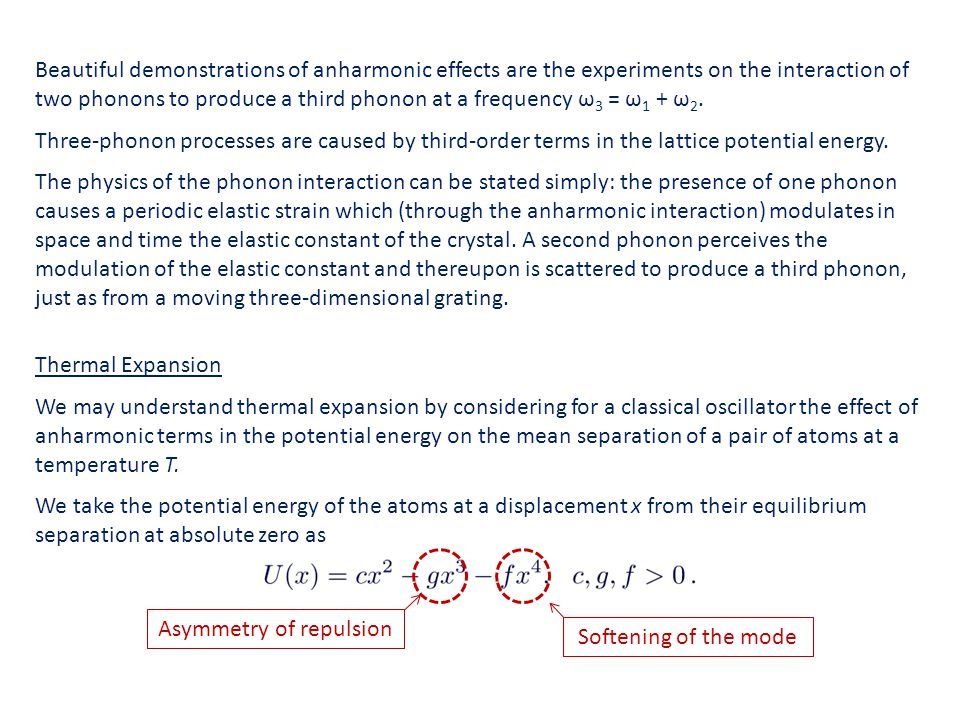 Asymmetry of repulsion